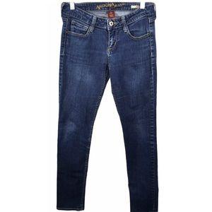 Arizona JR Super Skinny Low Rise Short Jeans